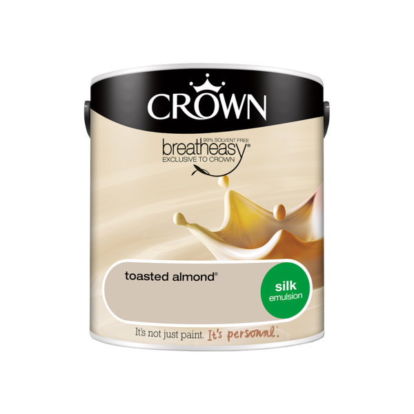 Crown Silk Emulsion 2.5Lt - Creams - Toasted Almond