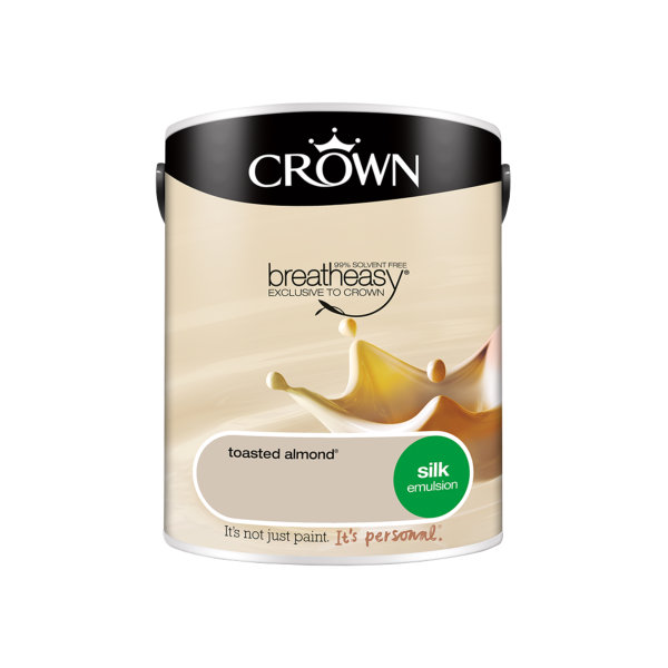 Crown Silk Emulsion 5Lt - Toasted Almond