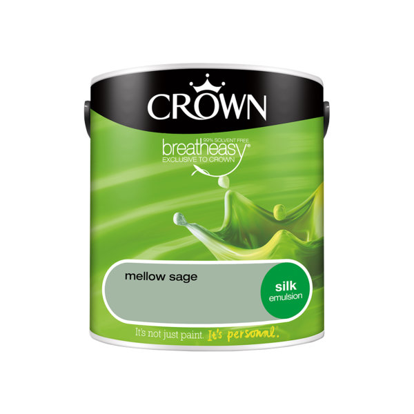 Crown Silk Emulsion 2.5Lt - Greens - Mellow Sage