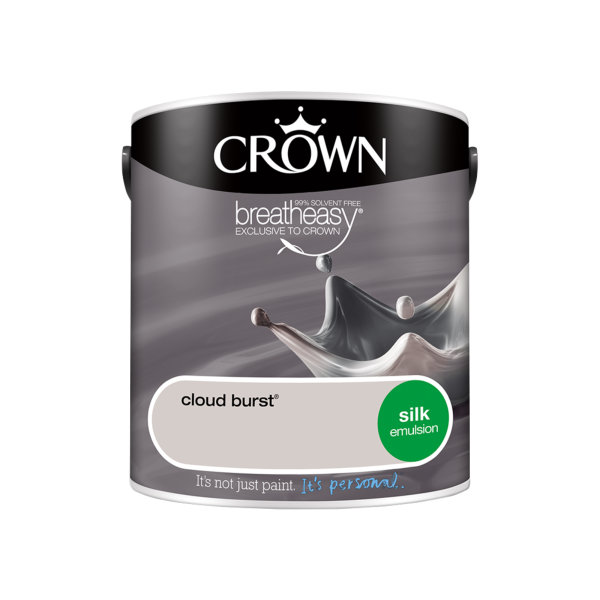Crown Silk Emulsion 2.5Lt - Greys - Cloud Burst