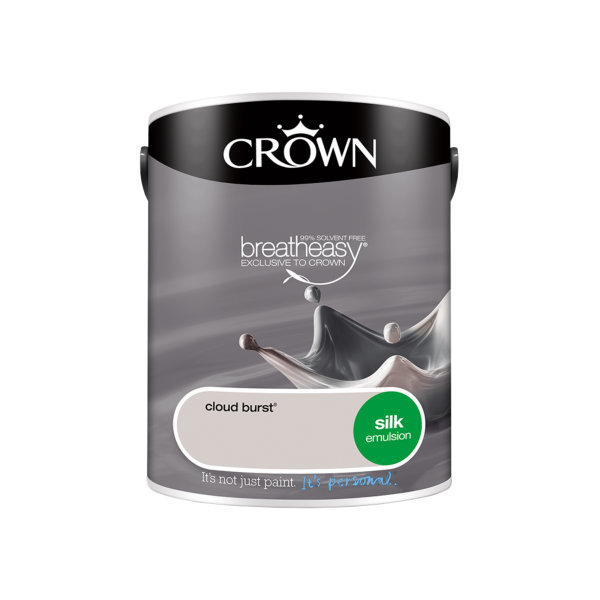 Crown Silk Emulsion 5Lt - Cloud Burst