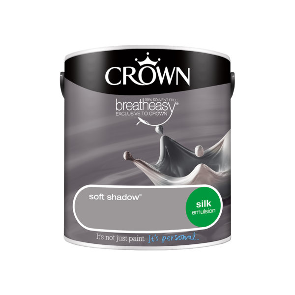 Crown Silk Emulsion 2.5Lt - Greys - Soft Shadow