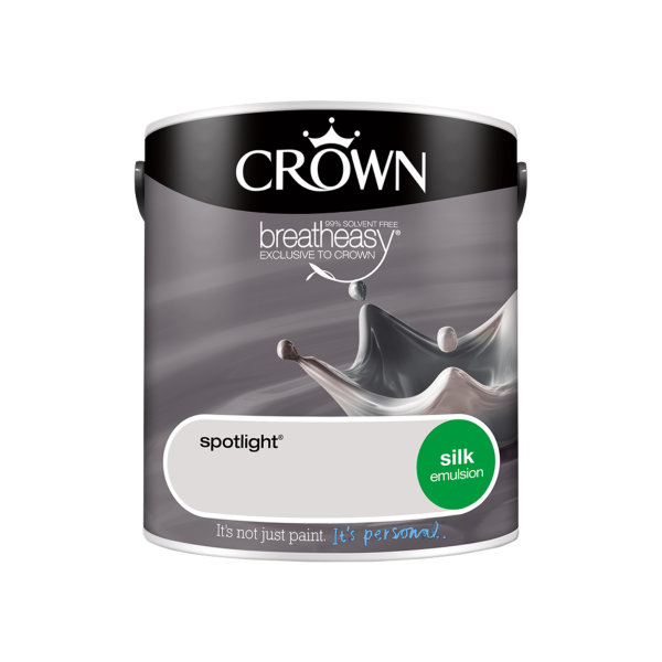 Crown Silk Emulsion 2.5Lt - Greys - Spotlight