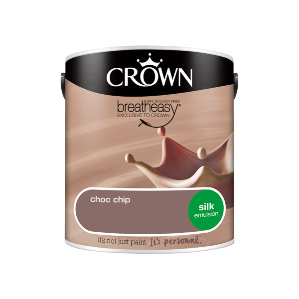 Crown Silk Emulsion 2.5Lt - Neutrals - Choc Chip