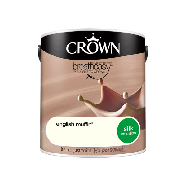 Crown Silk Emulsion 2.5Lt - Neutrals - English Muffin