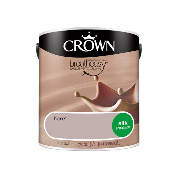 Crown Silk Emulsion 2.5Lt - Neutrals - Hare