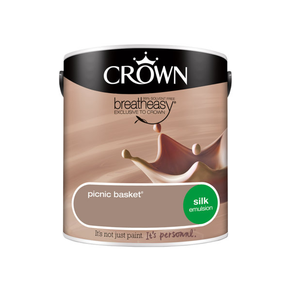 Crown Silk Emulsion 2.5Lt - Neutrals - Picnic Basket