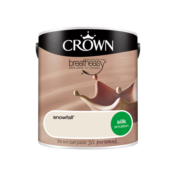 Crown Silk Emulsion 2.5Lt - Neutrals - Snowfall