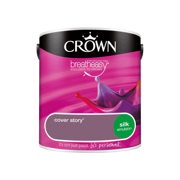 Crown Silk Emulsion 2.5Lt - Reds - Cover Story