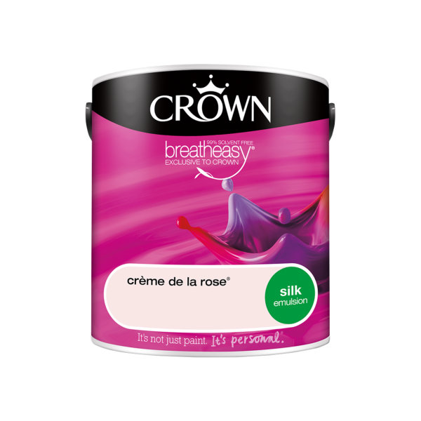 Crown Silk Emulsion 2.5Lt - Reds - Creme de la Rose