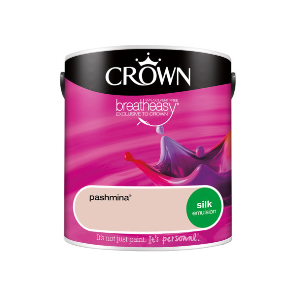 Crown Silk Emulsion 2.5Lt - Reds - Pashmina