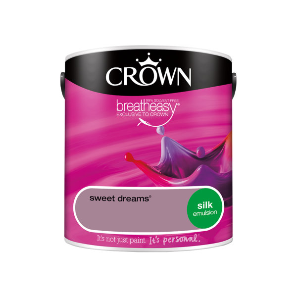 Crown Silk Emulsion 2.5Lt - Reds - Sweet Dreams