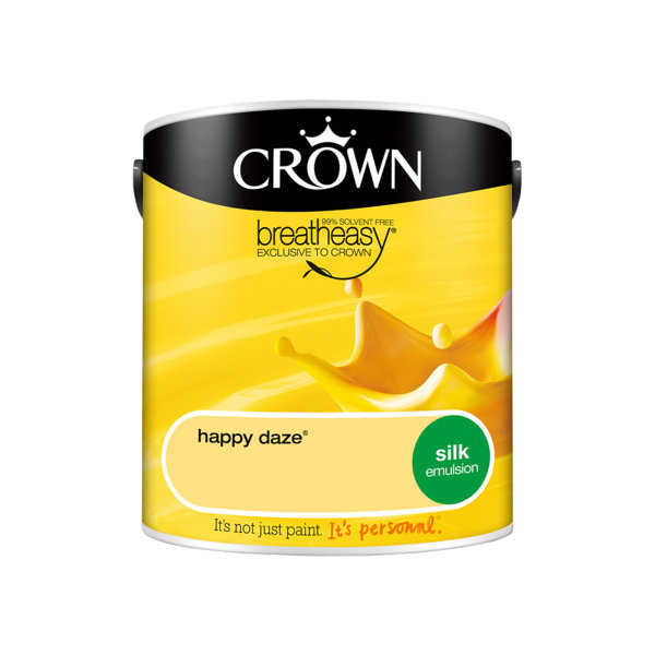 Crown Silk Emulsion 2.5Lt - Yellows - Happy Daze