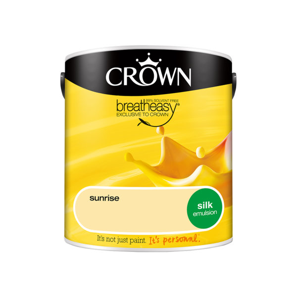 Crown Silk Emulsion 2.5Lt - Yellows - Sunrise