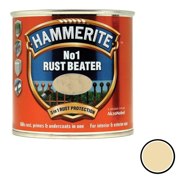 Hammerite Rust Beater 250ml - Beige