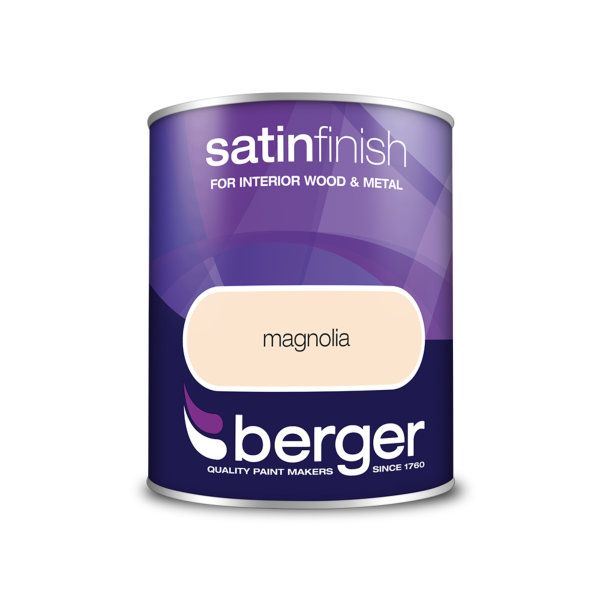 Berger Satin Sheen 750ml - Magnolia