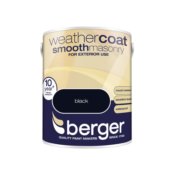 Berger Weathercoat 5Lt - Black