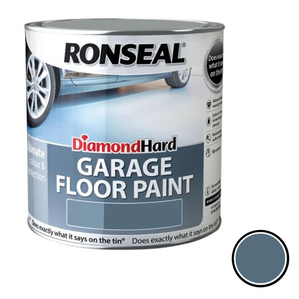 Ronseal Diamond Hard - Garage Floor Paint 2.5Lt - Slate