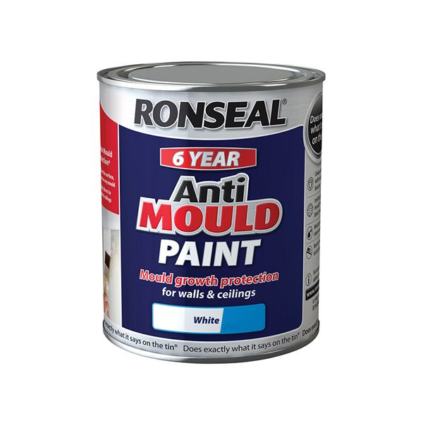 Ronseal Anti-Mould Paint 750ml - Matt