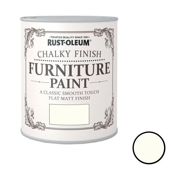 Rustoleum Furniture Paint 750ml - Chalk White