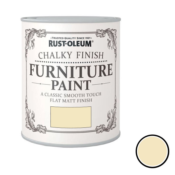 Rustoleum Furniture Paint 125ml - Clotted Cream