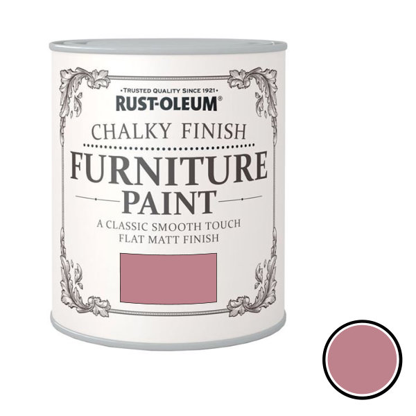 Rustoleum Furniture Paint 750ml - Dusk Pink