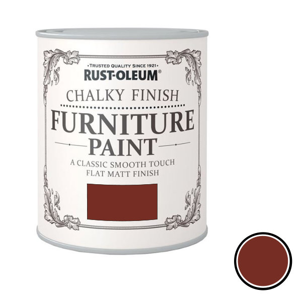 Rustoleum Furniture Paint 750ml - Fire Brick