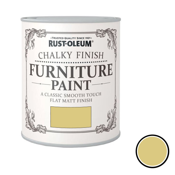 Rustoleum Furniture Paint 750ml - Mustard