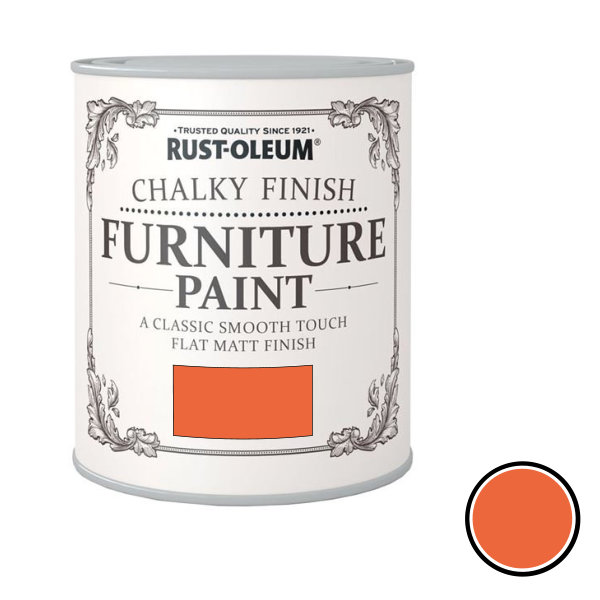 Rustoleum Furniture Paint 750ml - Pumpkin