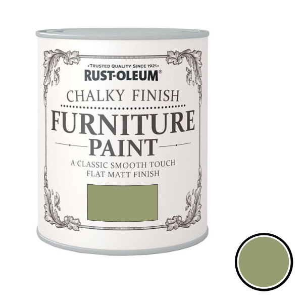 Rustoleum Furniture Paint 750ml - Sage Green