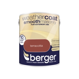 Berger Weathercoat 5Lt - Terracotta