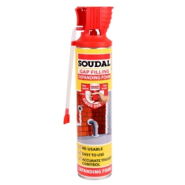 Soudal Expanding Foam 600ml - Multi-Purpose - (Reusable)