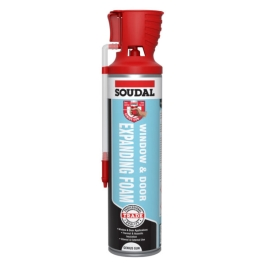 Soudal Expanding Foam 600ml - Window & Door - (Reusable)