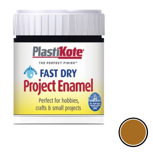 Plasti-Kote Enamel 59ml - Gold Leaf (B31)