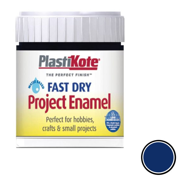 Plasti-Kote Enamel 59ml - Night Blue (B7)