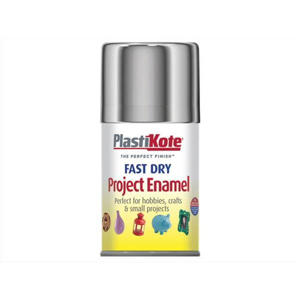 Plasti-Kote Spray Paint 100ml - Enamel - Night Blue