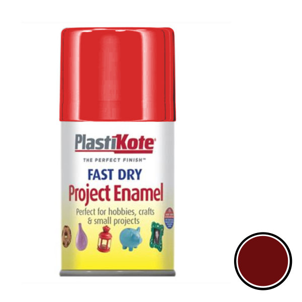 Plasti-Kote Spray Paint 100ml - Enamel - Insignia Red