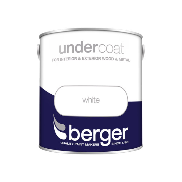 Berger Undercoat 2.5Lt - Pure Brilliant White