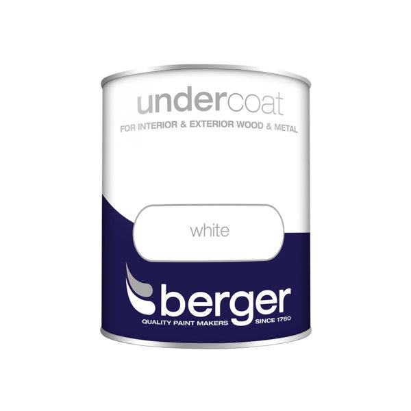 Berger Undercoat 750ml - Pure Brilliant White