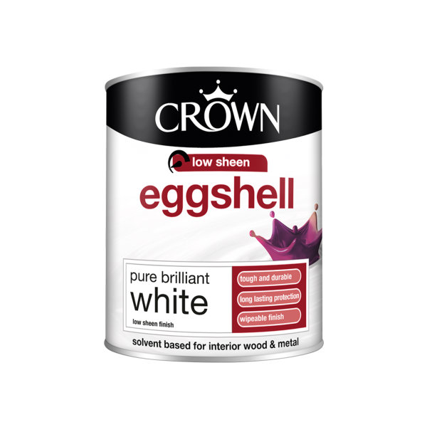 Crown Egg Shell 750ml - Pure Brilliant White