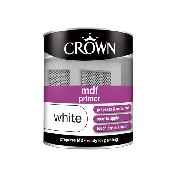 Crown MDF Primer 750ml - White