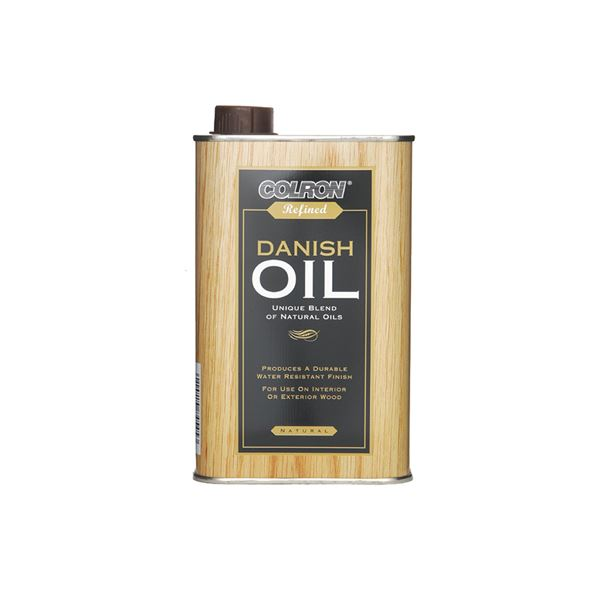 Colron Refined Danish Oil 500ml - Natural