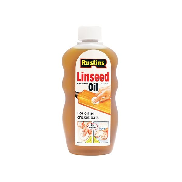 Rustins Raw Linseed Oil 300ml