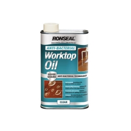 Ronseal Anti-Bacterial Worktop Oil 1Lt - Clear