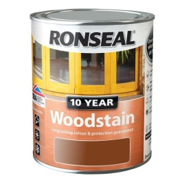Ronseal 10 Year Woodstain - Natural Oak 250ml