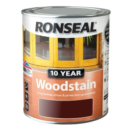 Ronseal 10 Year Woodstain 2.5Lt - Teak