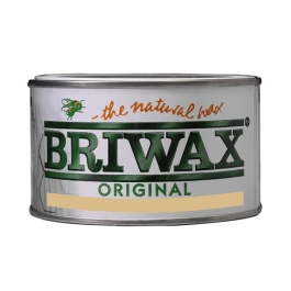 Briwax Natural Wax 400g - Antique Brown