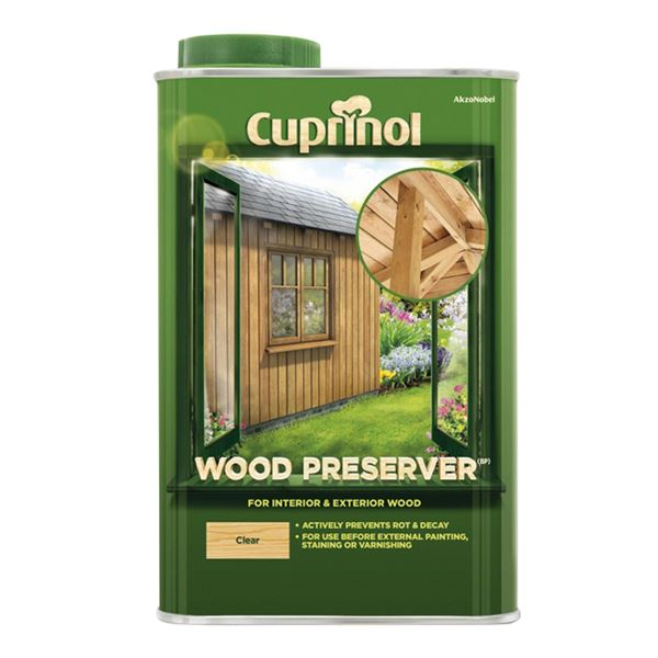 Cuprinol Wood Preserver 5Lt - Clear