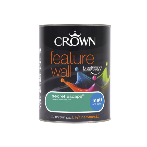 Crown Feature Wall Emulsion 1.25Lt - Secret Escape