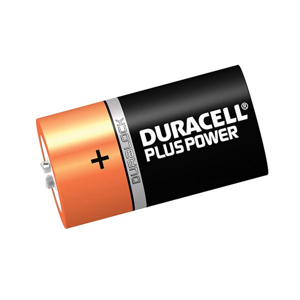 Duracell Battery - C Plus Power - (2 Pack)